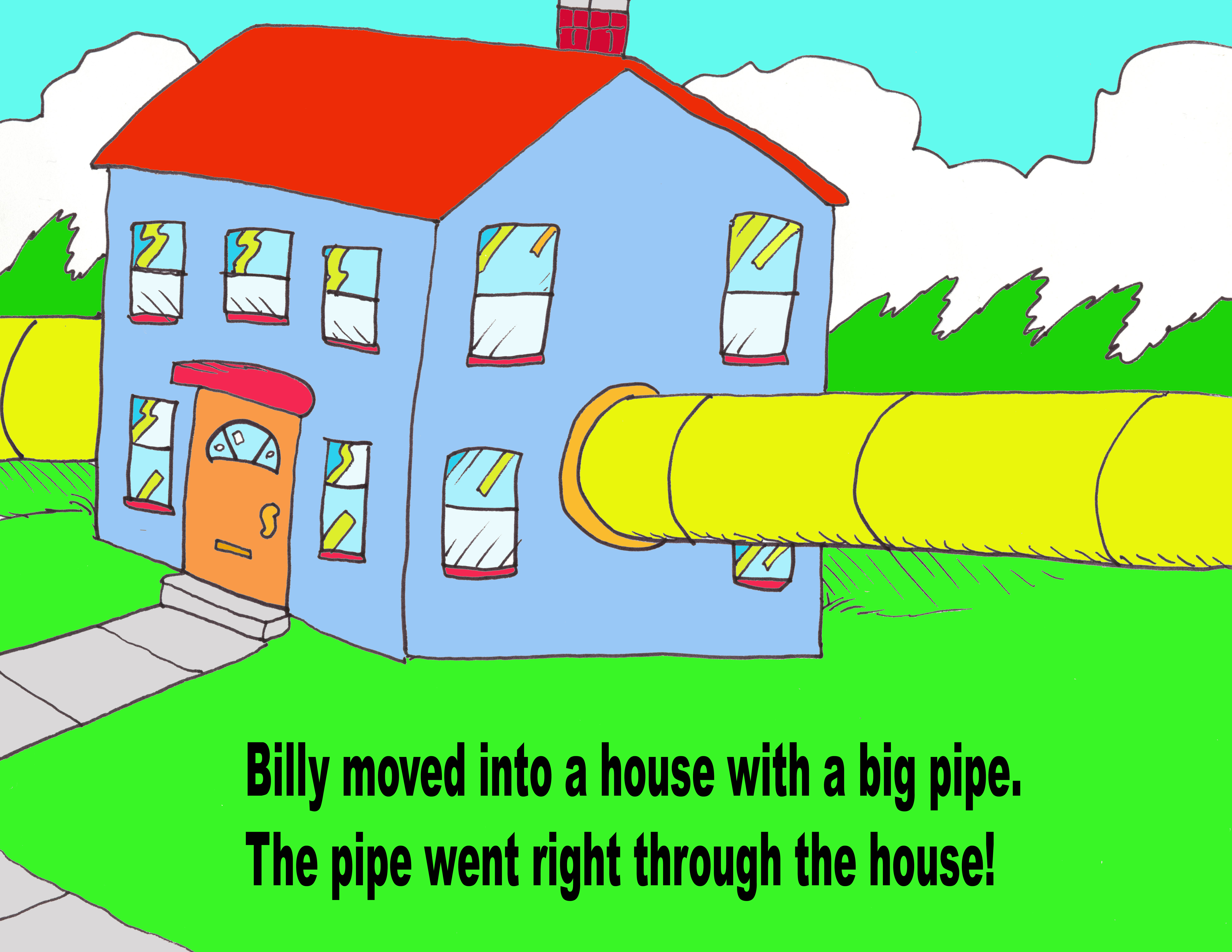 pipe in the house